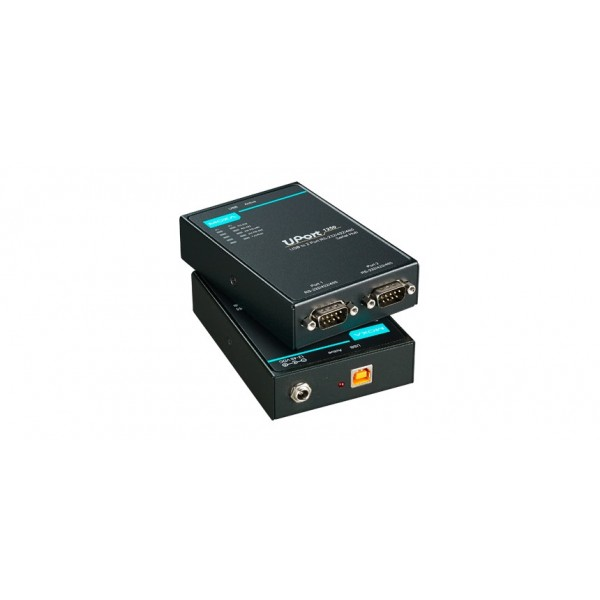 MOXA UPort 1250 USB to 2-port RS-232/422/485 Serial Hub