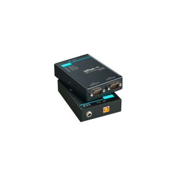 MOXA UPort 1250I USB to 2-port RS-232/422/485 Serial Hub with 2 KV Isolation Protection
