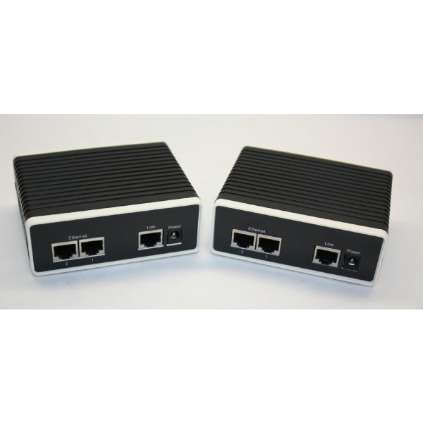 Black Box LB200A-R3 Ethernet Extender, Data Only, 2-Pack Kit