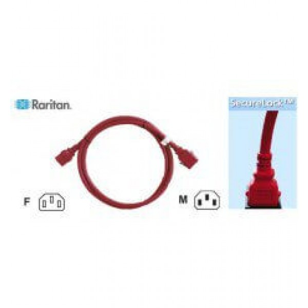 Raritan SLC14C13-1.0MK1-6PK SecureLock Locking Cable
