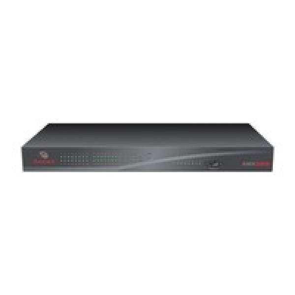 Avocent AMX5000-202 8 output and 32 input port rack mountable matrix switch with rack mount kit and AMWorks software