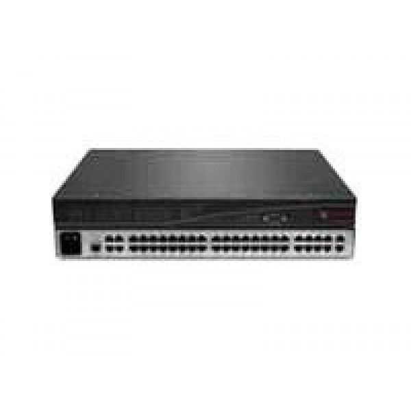 Avocent AMX5020-201 4 output and 42 input port rack mountable matrix switch with rack mount kit and AMWorks software
