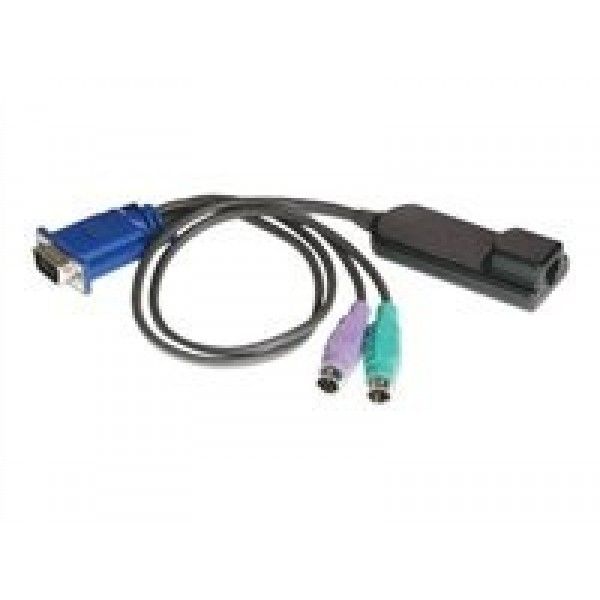 Avocent DSRIQ-PS232 32 pack, Server interface module for VGA video, PS/2 keyboard and mouse, w/ 14 in PS/2 cables