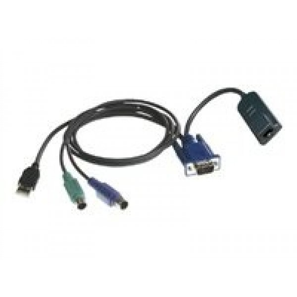 Avocent DSAVIQ-PS2M32 32 pack, Virtual Media server interface module for VGA video, PS/2 keyboard and mouse