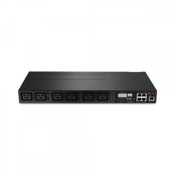 Avocent PM3004H-401 1U Horizontal 3-ph 16A 380/400/415V, fixed cord with IEC 309 16A, 6 C19 ports