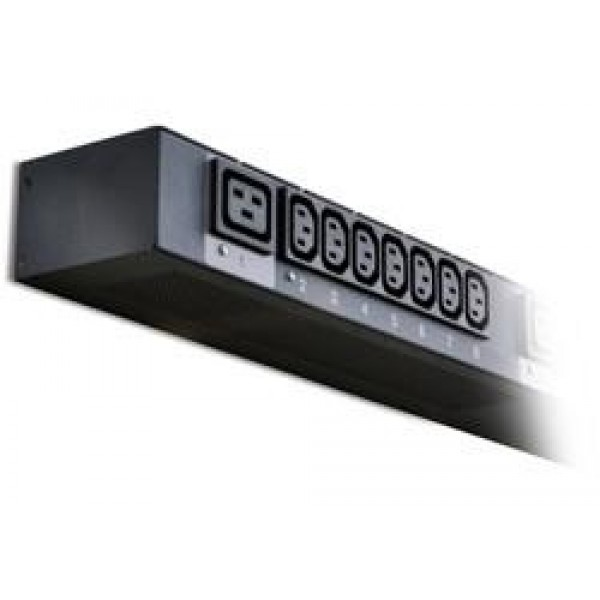 Avocent PM3005H-406 1U Horizontal 3-ph 32A 380/400/415V with IEC 309 32A, 6 C19 ports