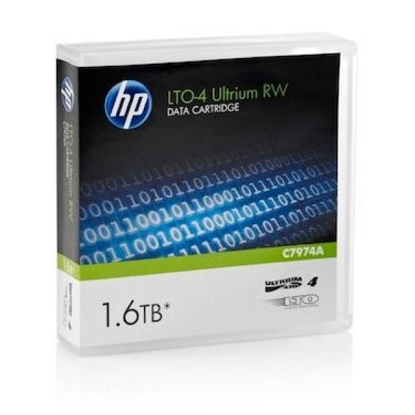 HP C7974A LTO4 Backup Tape Cartridge (800GB/1.6TB)