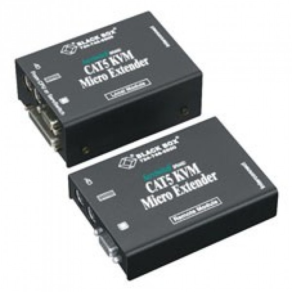 Black Box ACU3009A ServSwitch CATx KVM Micro Extender Kit, Dual-Access