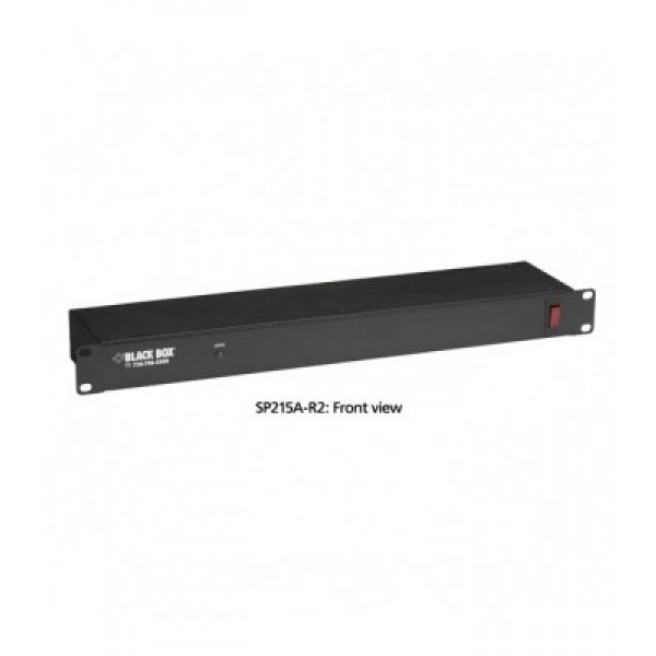 Black Box SP215A-R2 Rackmount Power Strips and Surge Suppressors