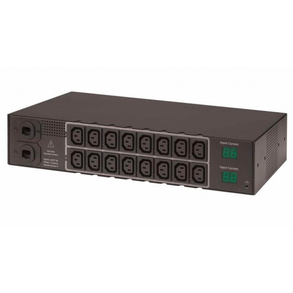 Server Technology CW-16HF2A452 Switched FSTS Dual Input CW-16HF2/E 6.6kW - 14.6kW (16) C13 outlets
