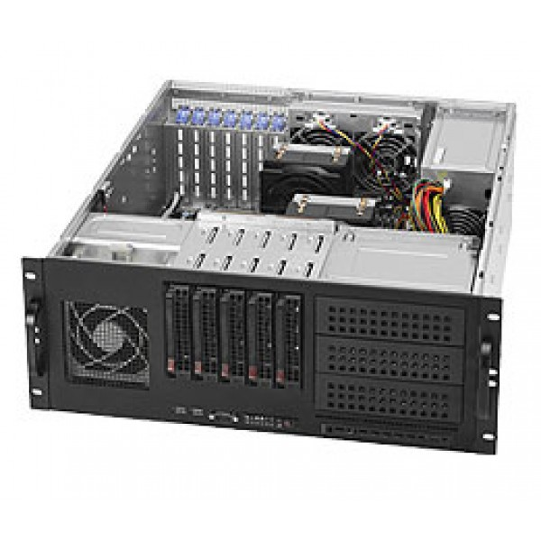 Supermicro 5520 (Tylersburg-36D) DP Xeon 4U Quad 6046T-TUF SuperServer