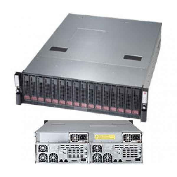 Supermicro E5-2400 + C600 based DP Xeon 3U 6037B-DE2R16L SuperServer