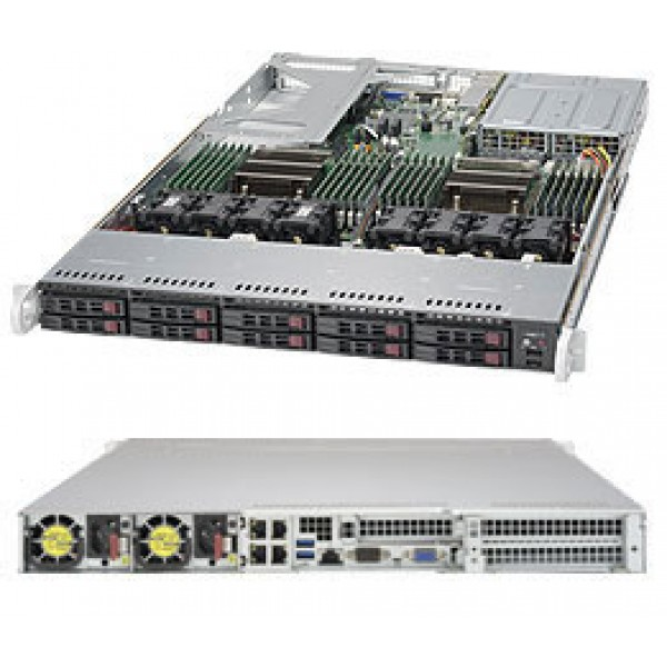 Supermicro E5-2600 v4/v3 + C612 based 1028U-TR4 SuperServer