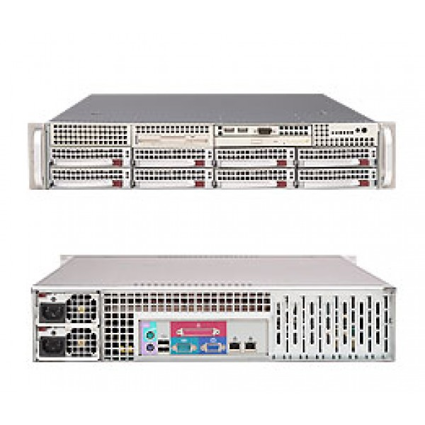 Supermicro 5000P (Blackford) 6025B-8R+V SuperServer