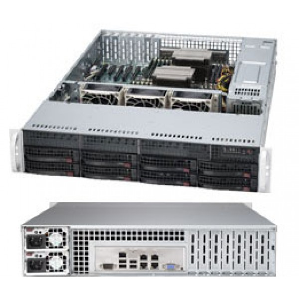 Supermicro E5-2600 + C600 Series based 6027R-TRF SuperServer