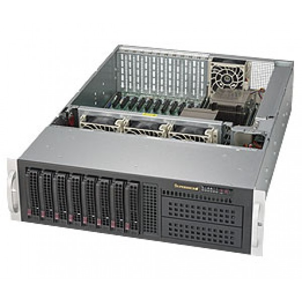Supermicro E5-2600 v4/v3 + C612 based DP Xeon 3U 6038R-TXR SuperServer