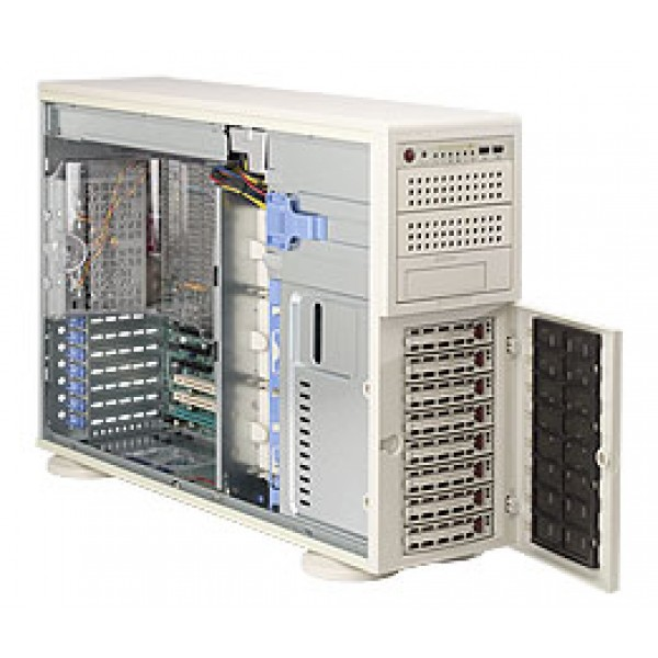 Supermicro 5000P (Blackford) DP Xeon 4U Quad 7045B-8R SuperServer