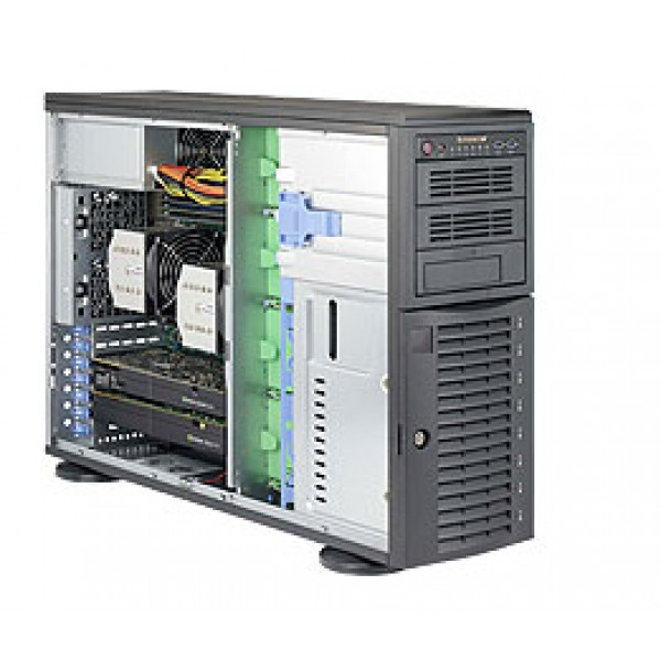 Supermicro E5-2600 v4/v3 + C612 based  DP & UP Xeon 4U 7048A-T SuperServer