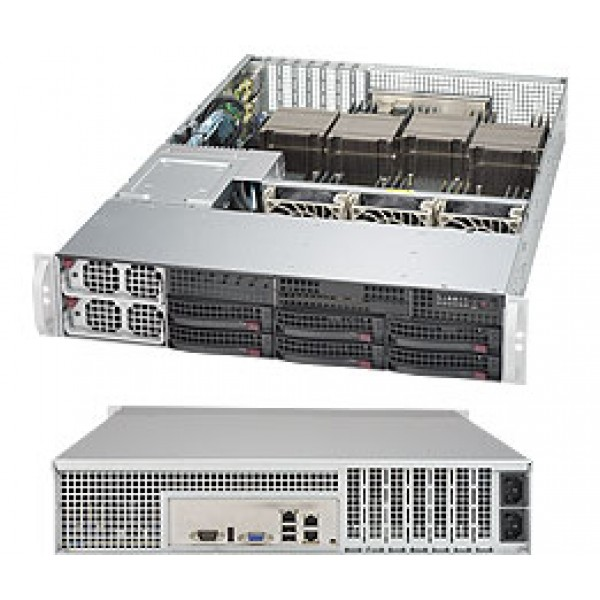 Supermicro E7-8800/4800 v4/v3 + C602J based 8028B-TR4F SuperServer