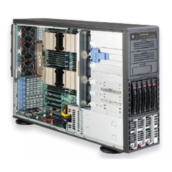 Supermicro E5-4600 + C602 based 8047R-TRF+ SuperServer