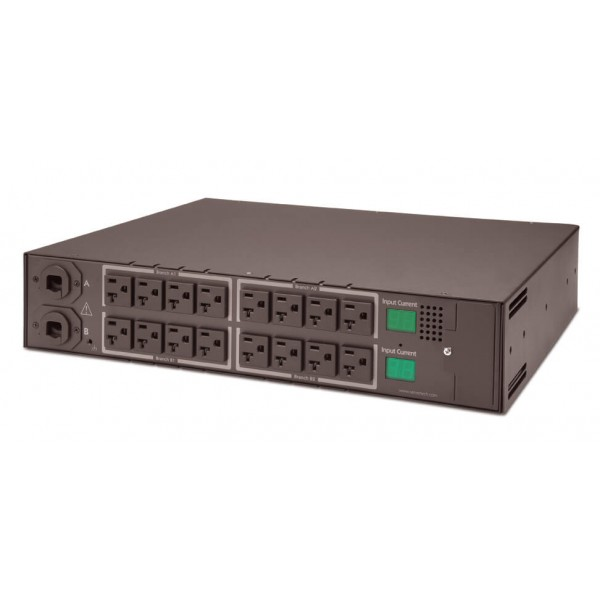 Server Technology C-16HF1-C20 Metered FSTS C-16HF1 2.8kW - 5.8kW (16) NEMA 5-20R outlets