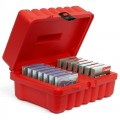 TURTLE 06-673709 4MM DDS Storage Case red