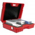 TURTLE 08-673037 ULTI MULTI - media storage box red