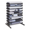 Turtle P048-00103 Double Sided - 16 Multi-Media Shelves